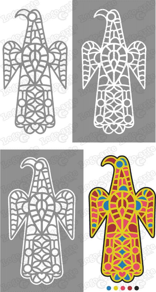 Vector images of visigothic fibula available for download.