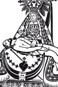 Vector image of Virgen de las Angustias.