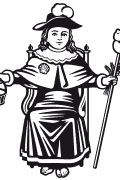 Vector image of Holy Child of Atocha.