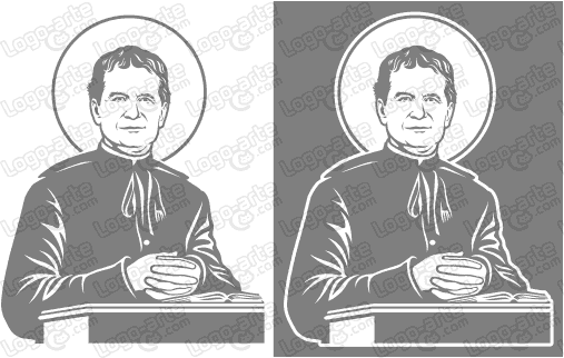 Vector images of Saint John Bosco available for download.