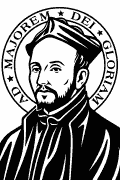 St. Ignatius of Loyola vectorized for cutting plotter and engraving