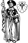 Vector image of St. James the Greater for cutting plotter