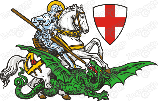 Image result for saint george dragon
