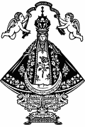 Vector image of Our Lady of San Juan de los Lagos