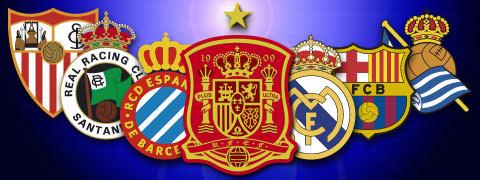 Escudos de futbol de España